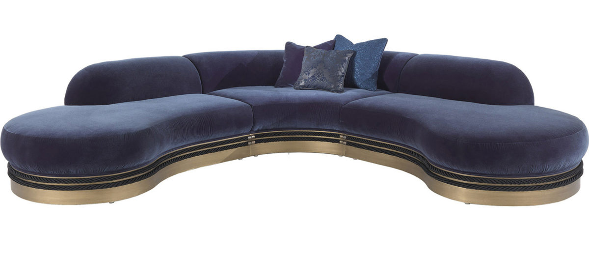 Gianfranco Ferre Home Alexander Modular Sofa