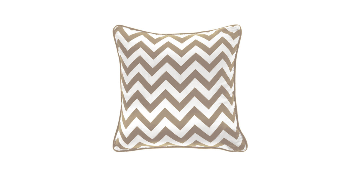Gfh Cushion Chevron Large Beige