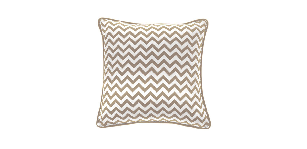 Gfh Cushion Chevron Medium Beige