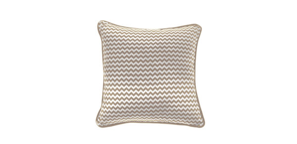 Gfh Cushion Chevron Small Beige