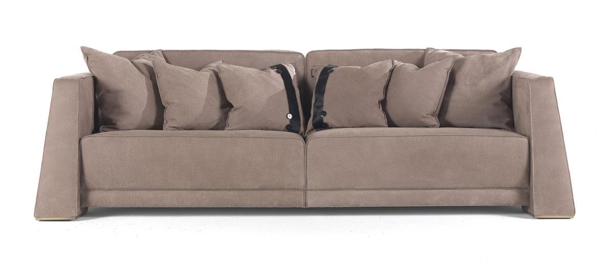 Gianfranco Ferre Home Kilt 3 Seater Sofa