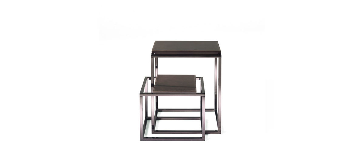 Gianfranco Ferre Home Matrix Side Table New