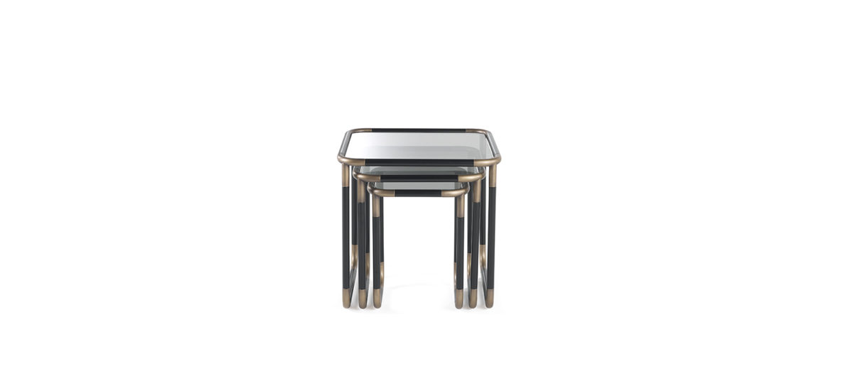 Gianfranco Ferre Home Pigneto Side Table