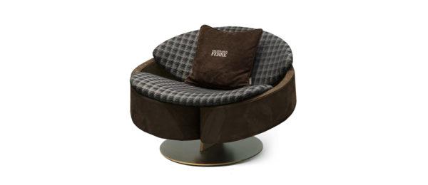 Gianfranco Ferre Home Sherlock Armchair 2021