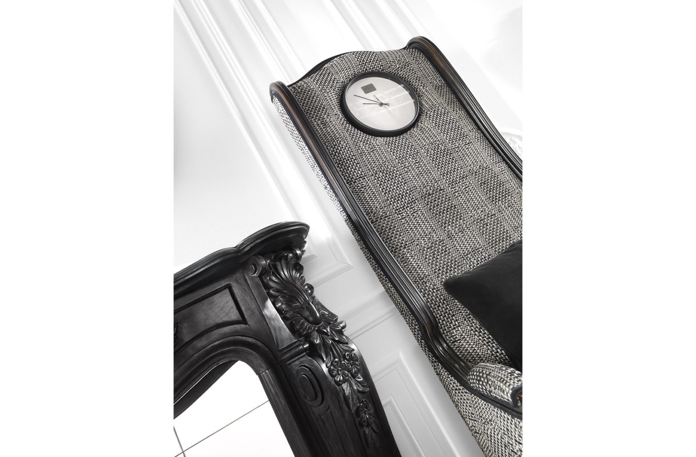 Big Ben Armchair With Clock