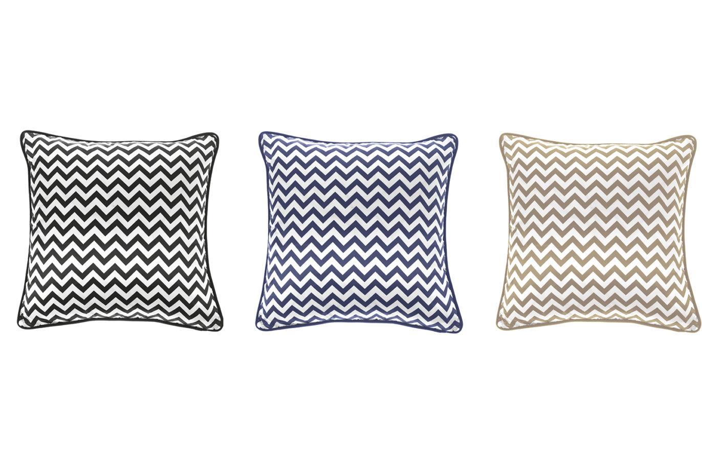 Gianfranco Ferre Home Chevron Cushion 02