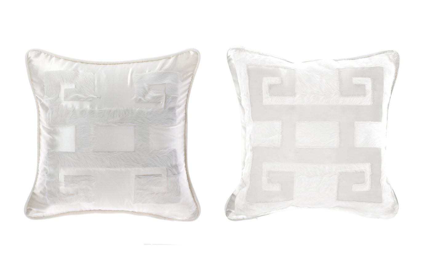 Gianfranco Ferre Home Greek Key Cushion 03