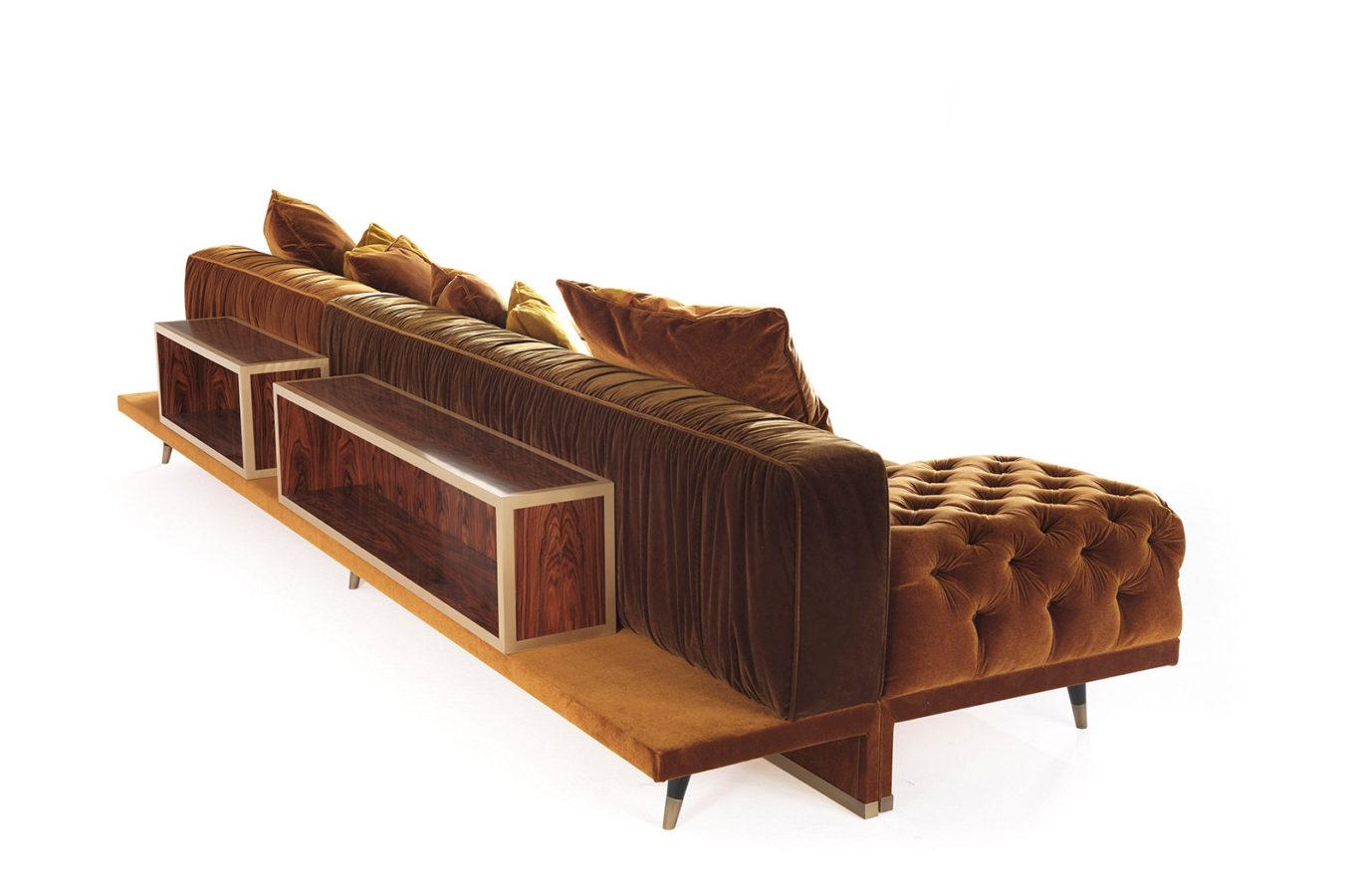 Gianfranco Ferre Home Highlander Modular Sofa 08