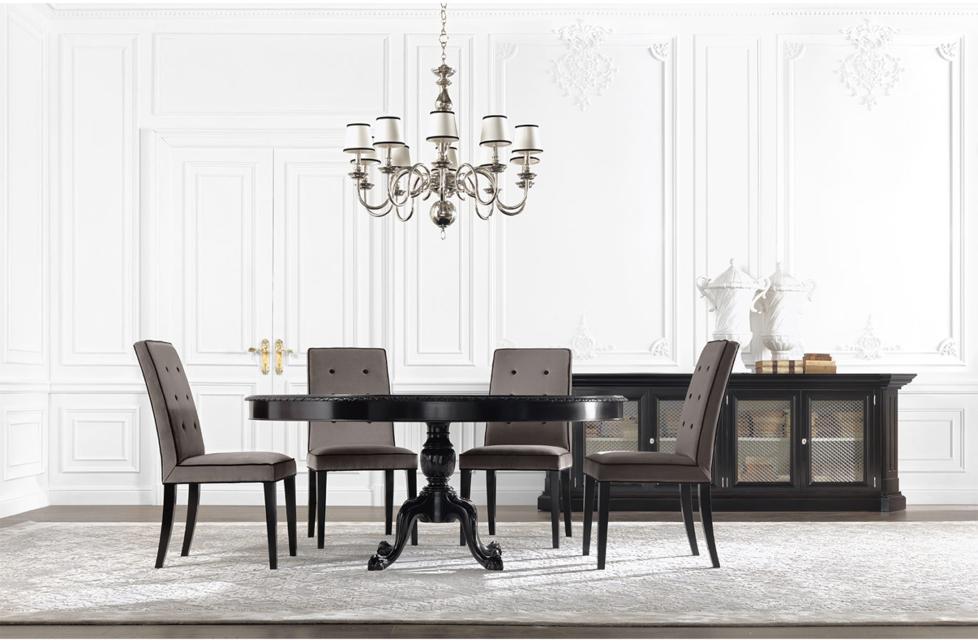 Gianfranco Ferre Home James Dining Table 01