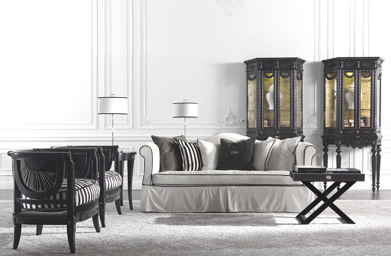 Gianfranco Ferre Home Kensington Side Table 01