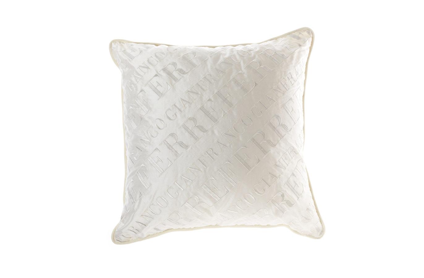 Gianfranco Ferre Home Logo Cushion