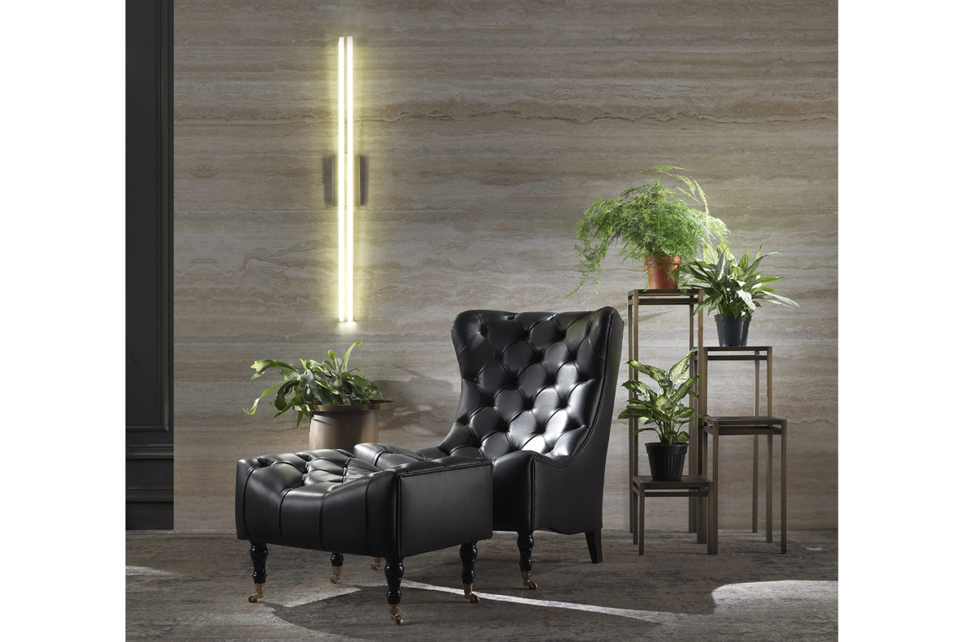 Gianfranco Ferre Home Luton Wall Lamp 02