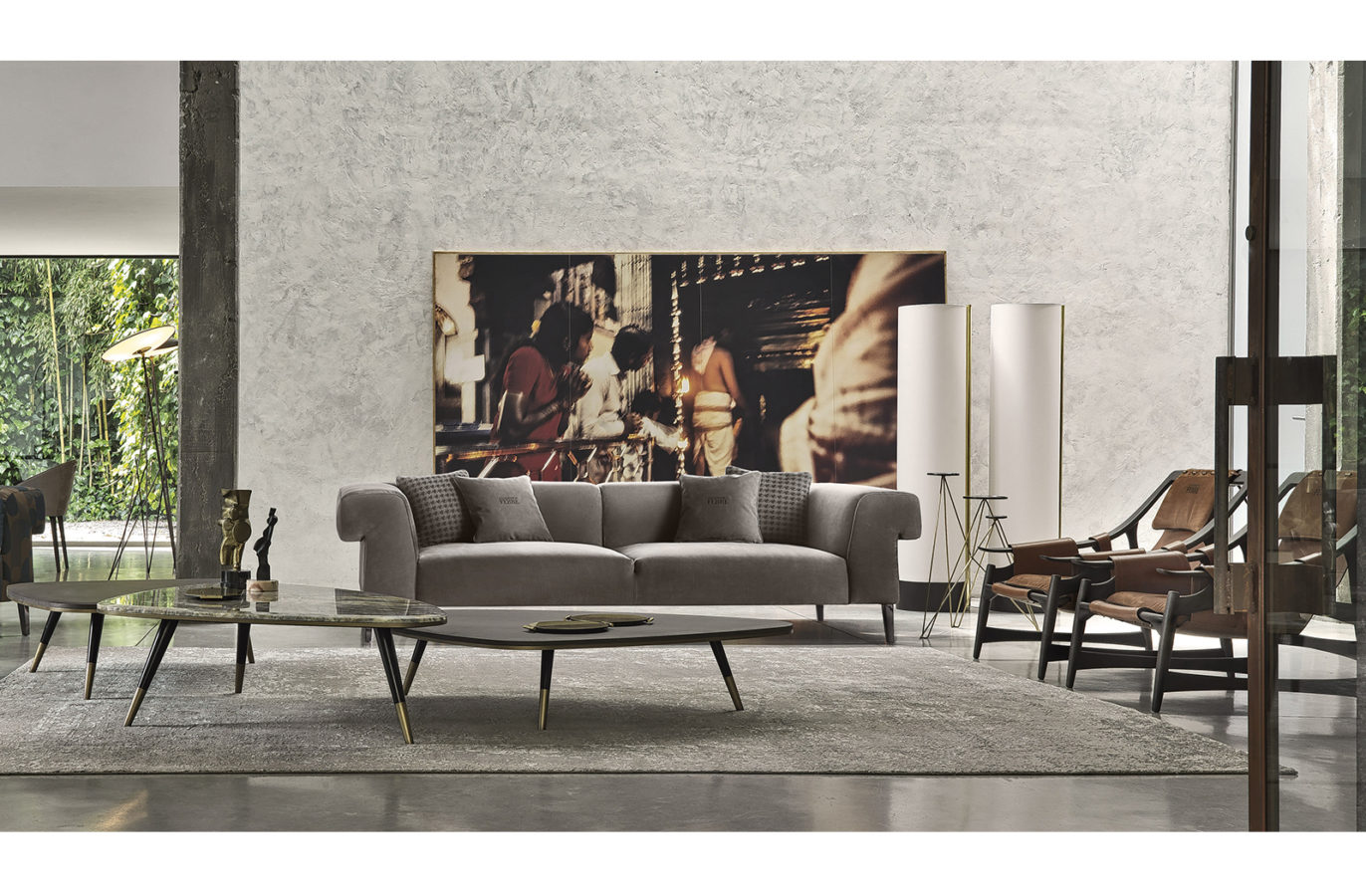 Gianfranco Ferre Home Soho Sofa 01