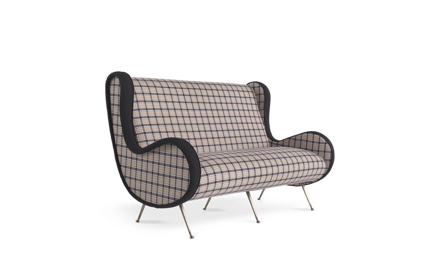 Tartan Sofa 4