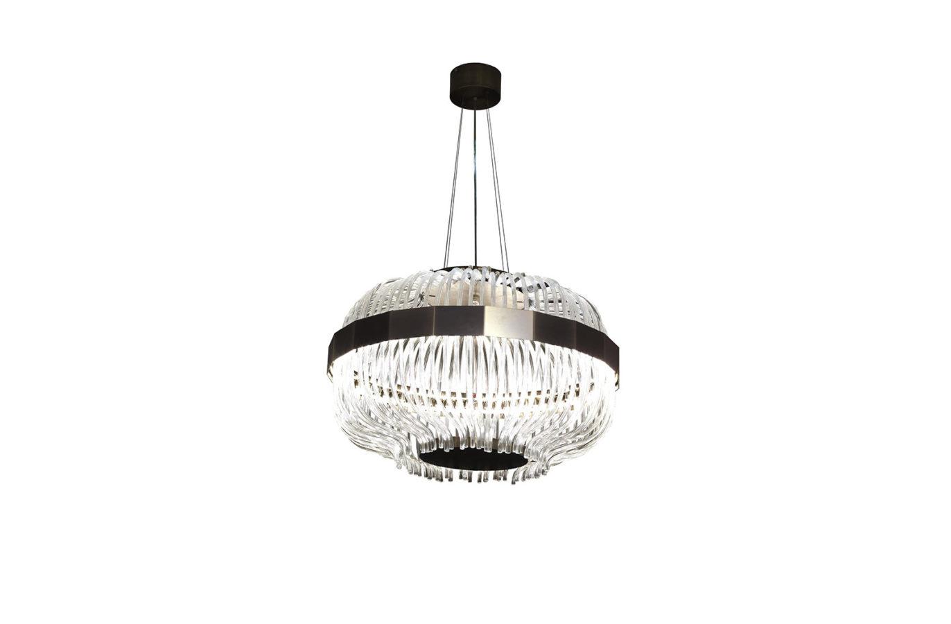 Wicker Suspension Lamp 1